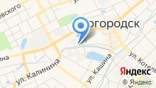 Богородская обувная фабрика на карте