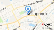 Богородская стоматологическая поликлиника на карте