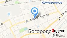 Богородская межрайонная ветеринарная лаборатория на карте