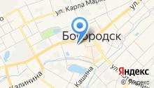 СГ МСК на карте