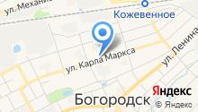 Райцентр на карте