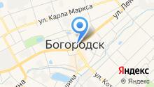 Магазин книг на карте