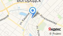 Кожно-венерологический диспансер, г. Богородск на карте