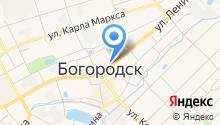 Покровский на карте