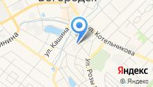 Дагаз на карте