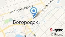 Отдел военного комиссариата Нижегородской области по г. Богородск и Богородскому району на карте