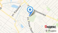Новое Богородское на карте