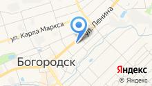 Отдел МВД России по Богородскому району на карте