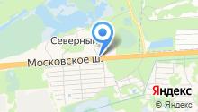 Мотель на карте