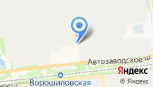 Акридис на карте