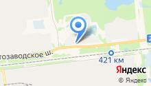 Авторегион52 на карте