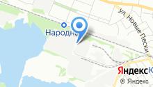 Тонплюс на карте