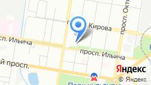 Магазин автозапчастей для иномарок на Школьной на карте