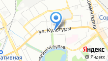 Шестеренка на карте