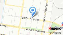Магазин хозтоваров и косметики на карте