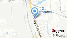 Запчасти на Кузбасской на карте