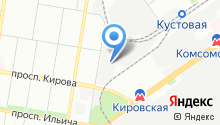 Форсаж НН на карте