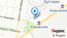 Отдел судебных приставов по Автозаводскому району на карте