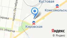 ПартКом на карте