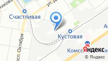 9 отряд ФПС по Нижегородской области, ФГКУ на карте