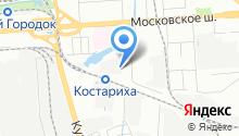 1-я Нижегородская мануфактура на карте