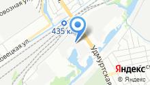 Авто-Каскад на карте