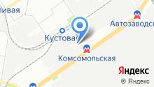 ГАЗ, ПАО на карте