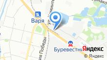 Стагер на карте