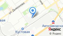 АвтоБриг НН на карте