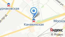 Автоиномарка на карте