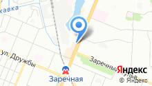 Магазин глиняной посуды на карте