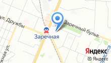 Управление социальной защиты населения Ленинского района на карте