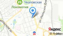 Иксора на карте