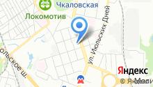 Dfly на карте