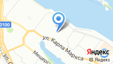 1-я Транспортная на карте