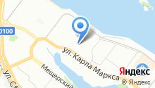 *1-я транспортная* на карте