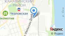 ПОРШЕНЬ на карте