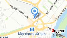 Consul на карте