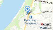 Дельта-К на карте