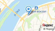 Управление по делам ГО, ЧС и пожарной безопасности по Нижегородской области на карте