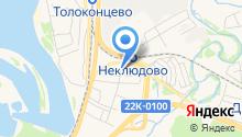 На Новой на карте