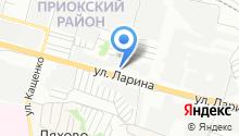Тандем НН на карте