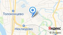 Линдовская курочка на карте