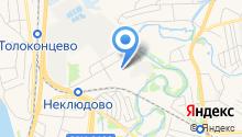 Волга-Бор на карте