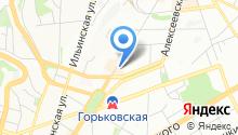 Biblioteca на карте