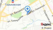 Автосервис на Тимирязева на карте