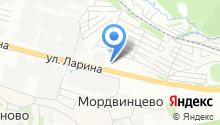 Kia центр Ларина на карте