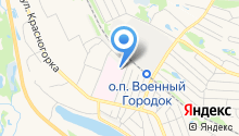 Борская центральная районная больница на карте
