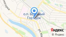 Шиномонтажная мастерская на ул. Толстого на карте