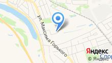 Парк Горького на карте